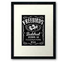 BadStreet U.S.A. Fabulous Freebirds Design Framed Print
