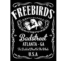 BadStreet U.S.A. Fabulous Freebirds Design Photographic Print