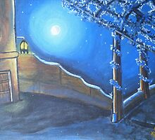 Village House compound Moon Light- Bharat by Nandika-Dutt