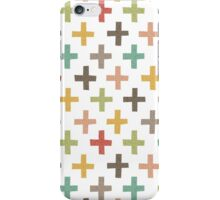 Hipster Crosses iPhone Case/Skin
