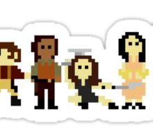 Firefly pixels Sticker