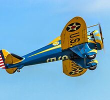 Boeing P-26A 33-123 N3378G by Colin Smedley