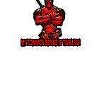 "Deadpool ""Common Sense"" Tee by Chewitz"