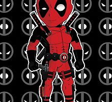 Deadpool Chibi by SushiKittehs