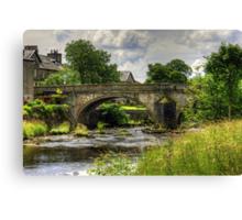 Settle Bridge Canvas Print