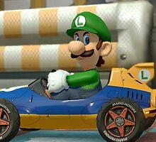 Luigi Death Stare by Deceptimike