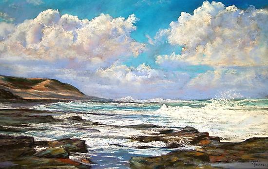 'Shelley Beach' - Apollo Bay by Lynda Robinson