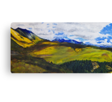 View From Last Dollar Road Canvas Print