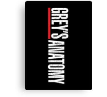 Grey's Anatomy Logo Canvas Print