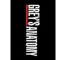 Grey's Anatomy Logo Photographic Print