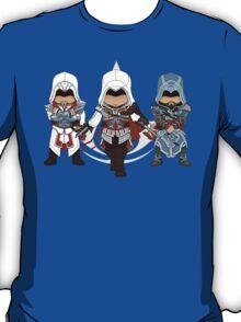 Ezio Auditore da Firenze Chibi Assassin Trio T-Shirt