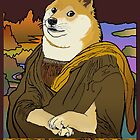 Mona Doge by RecycleBin