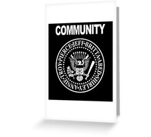Community - Great Seal of the Study Group Greeting Card