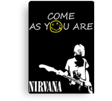 Come as you are - 2 Canvas Print
