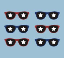 Red White & Blue Kids Clothes