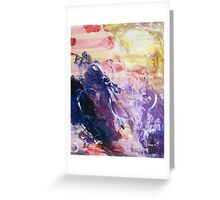 Spirit of Life - Abstract 1 Greeting Card