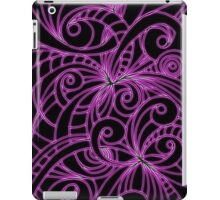 Floral Doodle Drawing iPad Case/Skin