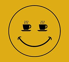 Smiley Coffee by Vana Shipton
