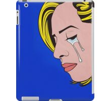 """I Don't Wanna Be Alone Forever..."" iPad Case/Skin"
