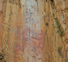 Rock Art at Katherine by Penny Smith