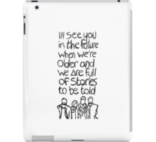 // Bastille Laughter Lines // iPad Case/Skin