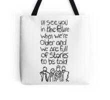 // Bastille Laughter Lines // Tote Bag