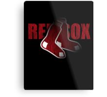 Red Sox Logo Metal Print