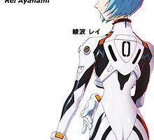 Rei Ayanami Japanese Neon Genesis Evangelion by greenbrix