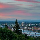 Portland Sunset from OHSU by thatche2