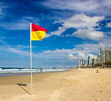 Main Beach - Surfers Paradise by Chris Kean