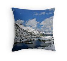 Scheidsee (Verwall Mountains) Throw Pillow