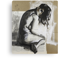Feeling Exposed Canvas Print