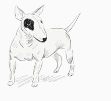 Cool Bull Terrier Doodle Kids Clothes