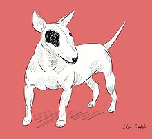 Cool Bull Terrier Doodle by ibadishi