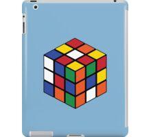 Rubik's Cube - Regular Body Black iPad Case/Skin