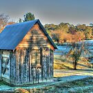 The Little House & the Frost .. HDR by Michael Matthews