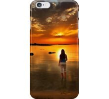 Into the sea, into the light iPhone Case/Skin