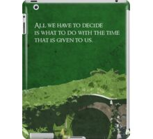 The Fellowship of the Ring inspired design. iPad Case/Skin