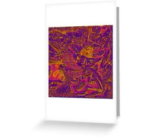 1375 Abstract Thought Greeting Card