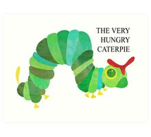 The Very Hungry Caterpie Art Print