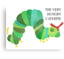 The Very Hungry Caterpie Metal Print