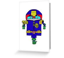 Dredd it Greeting Card