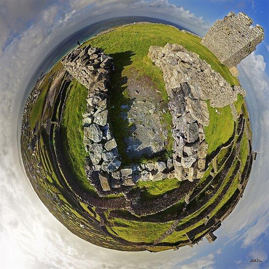 O'Brien Fort Inisheer, Aran Islands, Ireland by George Row