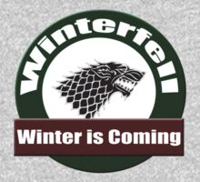 Winter is Coming T-shirt - Game of Thrones Clothing Tee & Sticker by deanworld