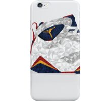 Jordan 6 Polygon Art iPhone Case/Skin