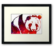 Endangered ! Framed Print