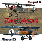 Dogfighters: Nieuport vs Albatros D.V by Mil Merchant
