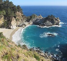 McWay Falls, Julia Pfeiffer Burns SP by ahlasny