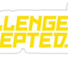 Challenge Accepted (6) Sticker