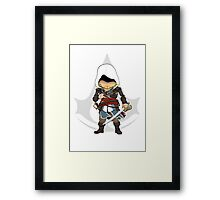 Assassin's Creed 4: Black Flag Edward Kenway Chibi Framed Print